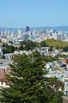 Free San Francisco Cityscape Royalty Free Stock Photo - 13963605