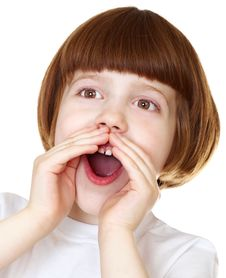 Free Emotional Little Girl Royalty Free Stock Photos - 13963658
