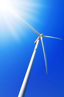 Free Wind Turbine Stock Photography - 13963792