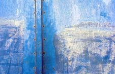 Free Old Iron Door Royalty Free Stock Image - 13963856