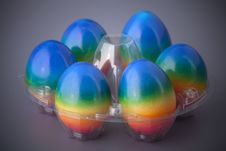 Free Easter Eggs In Basket Royalty Free Stock Image - 13964466