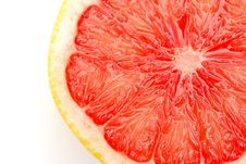 Free Pink Grapefruit Slice Royalty Free Stock Images - 13965099
