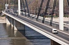 Free Modern Bridge Detail Royalty Free Stock Photos - 13965648