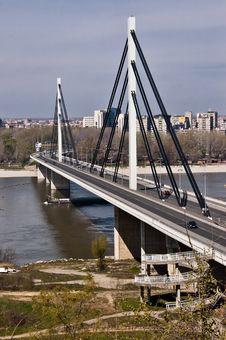 Free Modern Bridge Detail Royalty Free Stock Image - 13965656