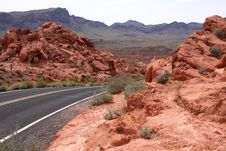 Free Desert Highway Stock Photography - 13965672