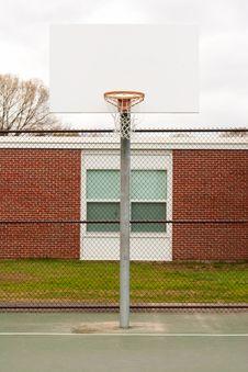 Free Basketball Hoop Stock Photo - 13966270