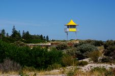 Free Surf Lifesaving Tower Royalty Free Stock Image - 13966786