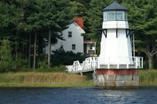 Free Doubling Point Lighthouse Stock Images - 13966884