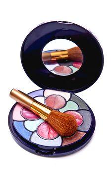 Free Eyeshadows Kit Stock Photography - 13967132