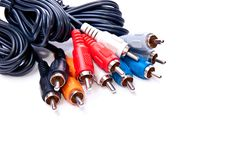 Free Isolated RCA Cables Stock Image - 13967141
