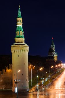 Free Kremlin At Night. Stock Photography - 13967362