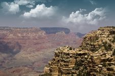 Free Dramatic Grand Canyon Royalty Free Stock Images - 13967719