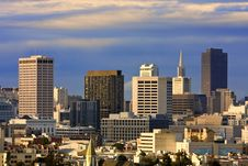 Free San Francisco Cityscape Stock Photography - 13968162