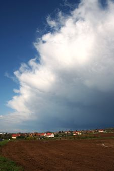 Free Storm Clouds Is Coming Royalty Free Stock Photography - 13968587