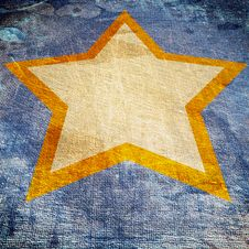 Free Abstract Star In The Future On Dark Stock Photography - 13968942