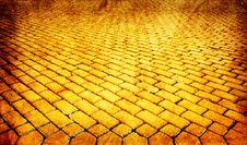 Free Yellow Paved Pavement Stock Photo - 13969300