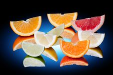 Free Citrus Fruits Royalty Free Stock Image - 13969346