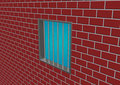 Free Latticed Prison Window Royalty Free Stock Photography - 13974017