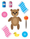 Free Baby And Nursery Items Royalty Free Stock Image - 13979856