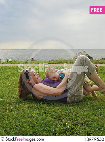 Free Mother And Child Stock Photo - 13979550