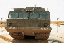 Cross-country Vehicle Royalty Free Stock Image