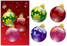 Free Christmas Balls Royalty Free Stock Image - 13970106