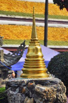 Free Mini Stupa Brass Asia Stock Photography - 13970502