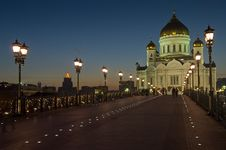 Free Cathedral Of Christ The Savior Royalty Free Stock Photography - 13970977