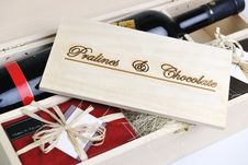 Free Chocolate And Praline Box Stock Photography - 13971262