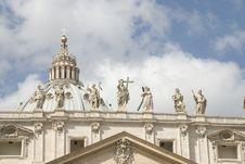 Basilica Of Saint Peter Stock Images