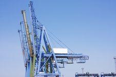 Free Big Cranes At Docks Royalty Free Stock Image - 13972086