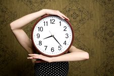 Free Big Clock Stock Photo - 13972450