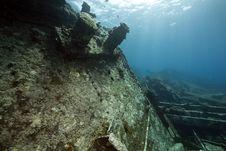 Free Wreck Freighter Kormoran - Sank In 1984 Tiran Stock Image - 13973301