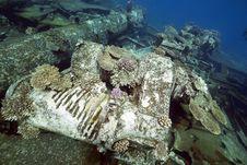 Free Wreck Freighter Kormoran - Sank In 1984 Tiran Royalty Free Stock Image - 13973436