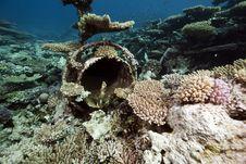 Free Wreck Freighter Kormoran - Sank In 1984 Tiran Royalty Free Stock Images - 13973649
