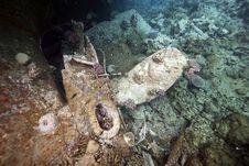 Free Wreck German Freighter Kormoran Royalty Free Stock Image - 13973956