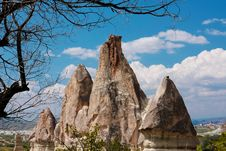 Cappadocia. Fantastic Landscape Stock Photo