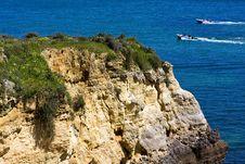 Free Praia Da Rocha Beach,portugal-algarve ,aquatics Royalty Free Stock Photo - 13973995