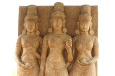 Free Ancien Thailand Statues Royalty Free Stock Photography - 13974787