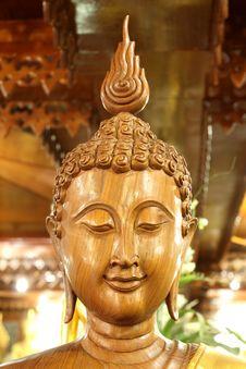 Free Buddha Wooden Image Stock Image - 13974931