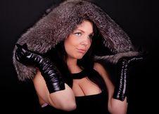 Free Woman Posing In Studio Stock Photos - 13975403