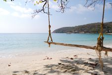 Free Swing At Ao Wai Beach Stock Images - 13975744