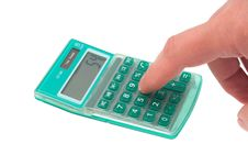Free Calculator Royalty Free Stock Photography - 13975797