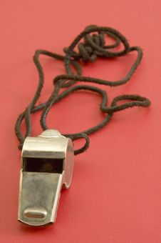 Free Steel Whistle Royalty Free Stock Images - 13975889