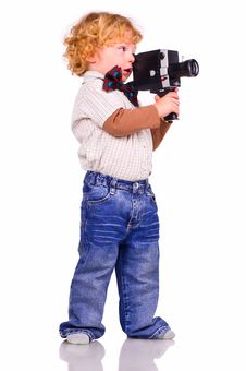 Free The Young Operator Stock Photos - 13977113