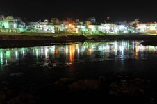Free Pushkar Lake At Night Royalty Free Stock Images - 13977289