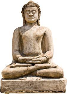 Free Old Buddha Royalty Free Stock Photo - 13979035