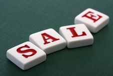 Letters Sale Stock Images