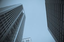 Free City Office Building Royalty Free Stock Image - 13979456