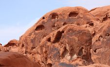 Free Red Rock Formation Stock Photo - 13979480